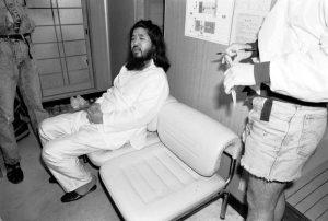 Shoko Asahara, giustiziato il fondatore del culto Aim Shinrikyo. Nel 1995 fu responsabile dell'attentato nella metro di Tokyo (foto Ansa)