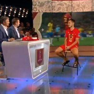 Mondiali 2018, Eden Hazard intervistato dalla tv belga