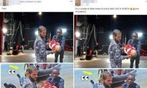 Migranti fake news: la foto falsa dei bambini morti