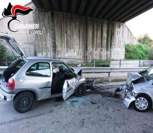 Pomigliano d'Arco (Napoli): carabinieri investiti mentre fanno rilievi per un incidente. 2 morti