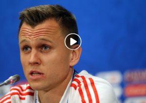 Cheryshev video gol Russia-Croazia 1-1
