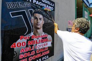 """Cristiano Ronaldo, il flop degli scioperi """"contro"""": a Melfi 5 operai Fca su 1700"""