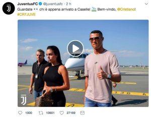 Cristiano Ronaldo ha stupito tutti, è arrivato a Torino con un giorno d'anticipo con Georgina Rodriguez