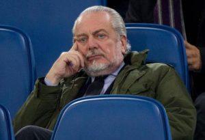 """De Laurentiis attacca Lotito e Tavecchio: """"Limite su extracomunitari nelle squadre? Da coatti cerebrali"""""""