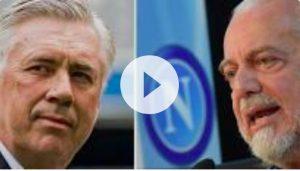 """De Laurentiis: """"Scudetto scippato, Cavani? Mi chiamasse lui..."""""""