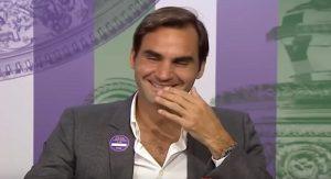 Wimbledon domanda Federer