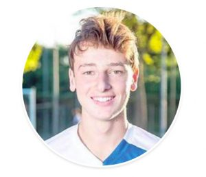 Francesco Renzi, figlio dell'ex premier Matteo, in prova all'Udinese