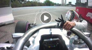 VIDEO - Hamilton out, colpo di scena clamoroso nelle qualifiche del Gp di Germania di Formula 1