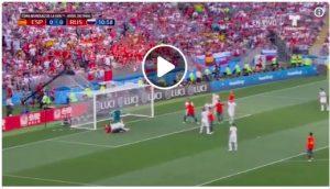 VIDEO Spagna-Russia, autogol con il tacco di Ignashevich. Sergio Ramos ha provato ad assegnarsi il gol