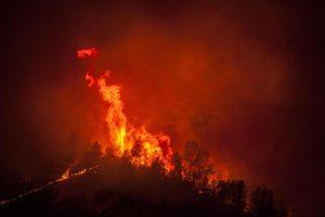 California, incendio minaccia Parco di Yosemite. Morto un vigile del fuoco
