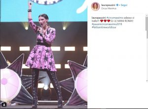 Laura Pausini a Circo Massimo lancia una frecciatina a Beyoncé