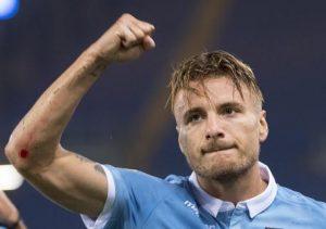 Lazio-Spal 3-0, Immobile gol e show. In rete anche Caicedo e Rossi