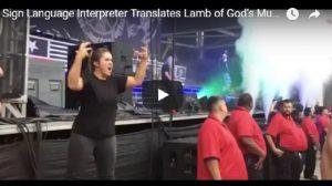 YOUTUBE Lamb of Lord, l'heavy metal nella lingua dei segni