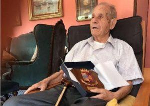 Angelo Longo polziotto centenario