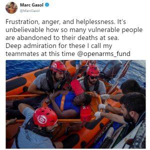 marc gasol migranti