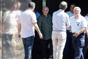 Marcello Dell'Utri esce dal carcere di Rebibbia: ora domiciliari