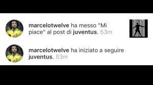 """Cristiano Ronaldo alla Juventus, Marcelo mette """"like"""". E' il prossimo colpo di mercato?"""