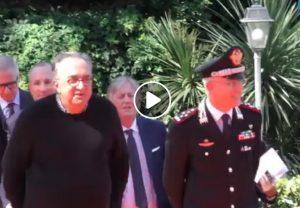Sergio Marchionne, l'ultima apparizione pubblica: consegna Jeep ai Carabinieri