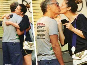 Massimo Giletti, bacio con la ex Angela Tuccia: forse ritorno di fiamma