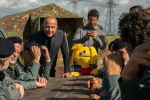 Giorgio Mastrota nella serie tv 'Romolo+Giuly' su Fox