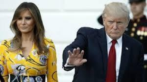 Melania guarda Cnn a bordo dell'Air Force One: Donald Trump si arrabbia