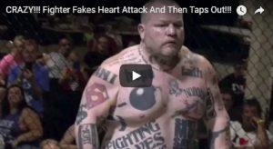 YOUTUBE MMA: finge infarto, poi manda KO l'avversario