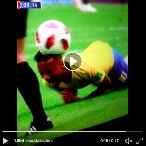 YOUTUBE Neymar ci ricasca, ancora capriole in Brasile-Messico VIDEO