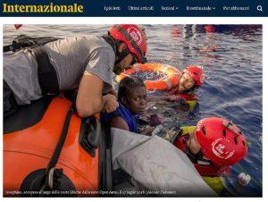 """Open Arms vira verso la Spagna: """"Dopo parole Salvini, Italia non è porto sicuro"""""""