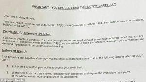 """Paypal, lettera choc al vedovo: """"La morte di sua moglie viola l'accordo"""""""