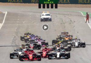 Formula 1 Silverstone, Raikkonen video contatto con Hamilton: 10 secondi di penalità