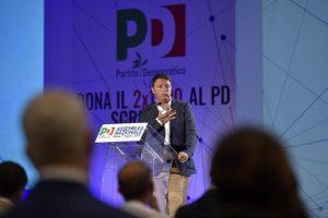 Renzi è antipatico ma...nella foto: Matteo Renzi durante l'assemblea nazionale del Partito Democratico, Roma 07 Luglio 2018  ANSA / LUIGI MISTRULLI
