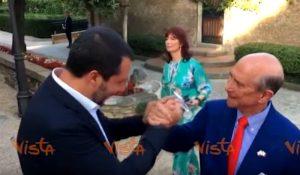 Salvini festa 4 luglio Usa