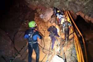 Thailandia, baby calciatori sedati per uscire dalla grotta allagata