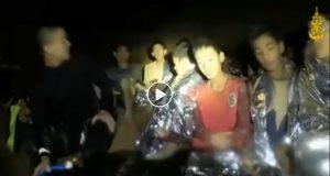 Thailandia, ragazzini intrappolati in video: ringraziano i soccorritori