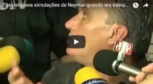 """YOUTUBE Quando il c.t. Tite attaccava Neymar: """"Simula. E' un cattivo esempio per i bambini"""""""