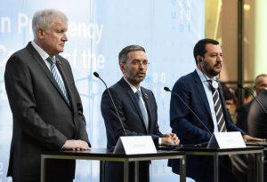 Triplice anti migranti: patto Italia-Austria-Germania per fermarli