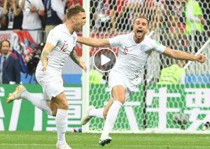 Trippier video gol Croazia-Inghilterra, rete su punizione