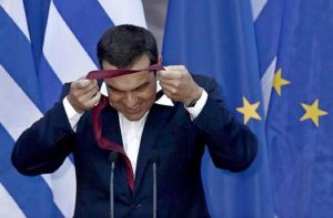 Non basta una cravatta per salvare la Grecia dalla crisi