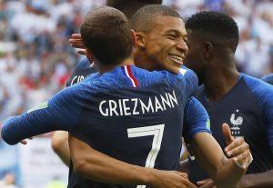 Uruguay-Francia streaming e diretta tv: dove vederla (Mondiali 2018 quarti)