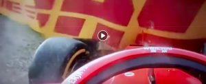 Formula 1, clamoroso in Germania: Vettel finisce contro la barriera mentre era primo, Ferrari beffata dalla pioggia