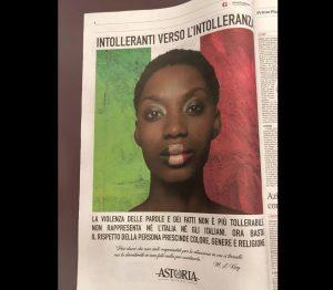 """Razzismo, Paolo Polegato, ad di Astoria, compra pagina di giornale: """"Intolleranti verso l'intolleranza"""""""