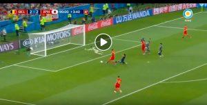 YOUTUBE Chadli video gol Belgio-Giappone 3-2, rimonta completata al 94'