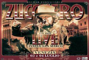 Zucchero e il concerto a piazza San Marco a Venezia: scaletta, orari e biglietti