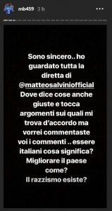 """Balotelli a Salvini: """"Blocca i tuoi follower, sono razzisti"""""""
