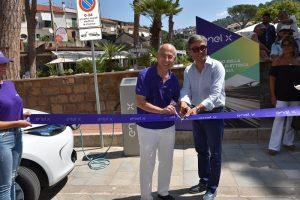 Auto elettrica, Enel X installa colonnine a Castellabate