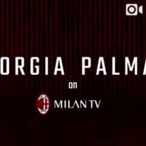 Giorgia Palmas a Milan Tv, è derby con il fidanzato interista Filippo Magnini