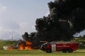 Croazia, aereo si schianta a Artatore: quattro aretini feriti (foto d'archivio Ansa)