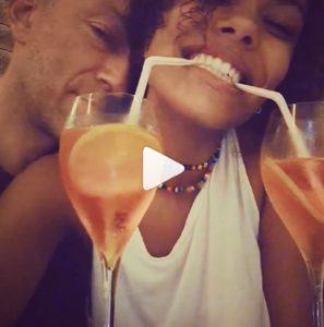 Vincent Cassele Tina Kunakey rispondono a Monica Bellucci con questo post...
