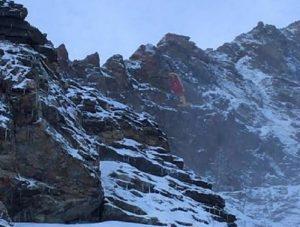 Matteo Pes morto sul Monte Cervino nel passaggio dell'Enjambee