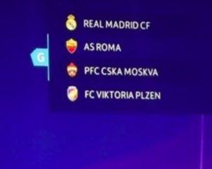 Champions League 2018-2019, calendario partite Roma: orario e date
